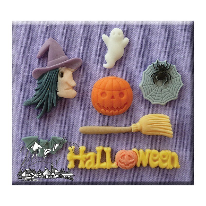 Alphabet Moulds - Halloween - Bakeworld.ie