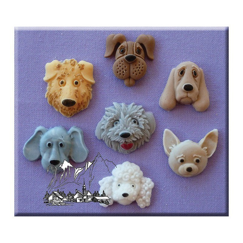 Alphabet Moulds - Dogs Head - Bakeworld.ie