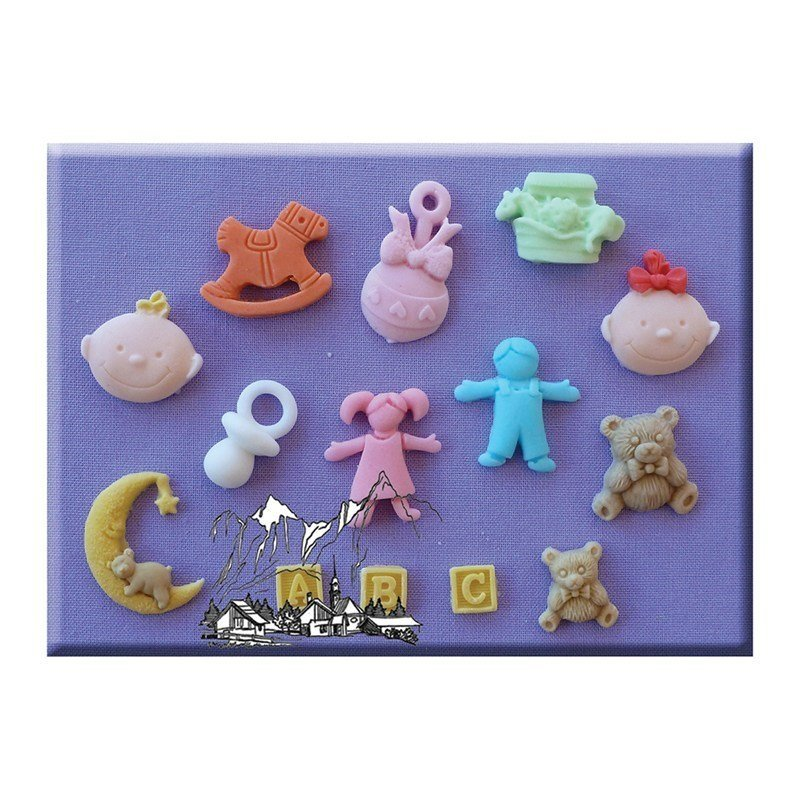 Alphabet Moulds - Nursery - Bakeworld.ie
