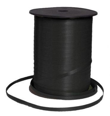 Black Curling Ribbon 5mm x 500mt - Bakeworld.ie