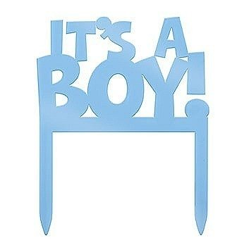 It's a Boy Cake Topper 10cm