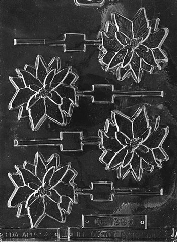 Poinsettia Lolly Mould