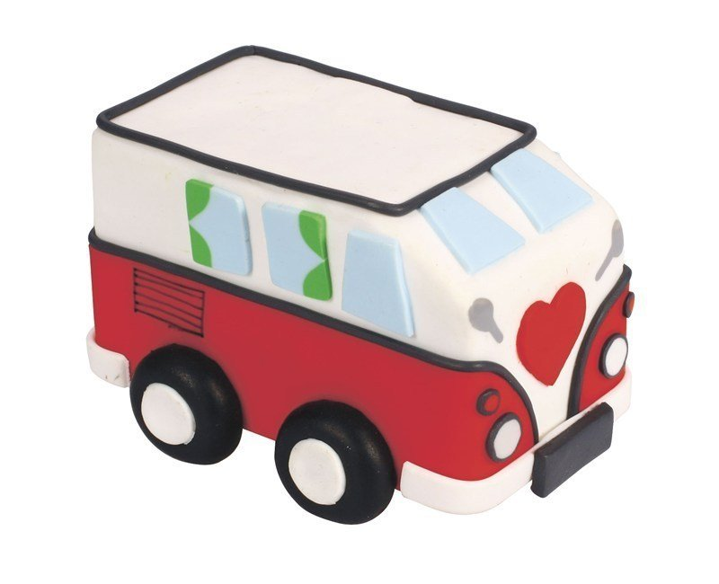 Claydough - Campervan 85 x 60mm - Bakeworld.ie