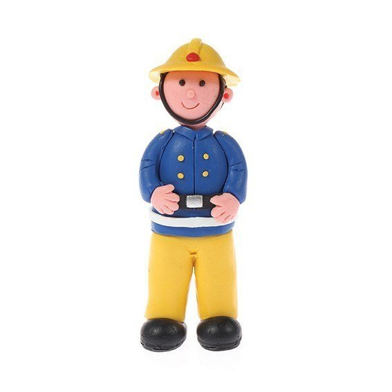 Claydough Fireman 85mm - Bakeworld.ie
