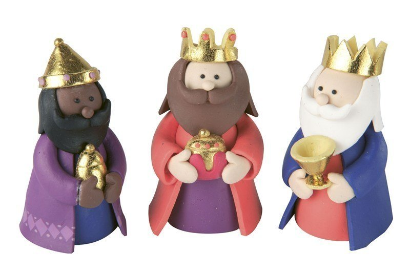 Claydough - Three Kings - Bakeworld.ie