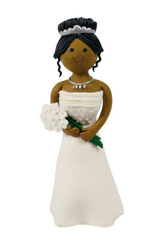 Claydough Ethnic Bride - Bakeworld.ie