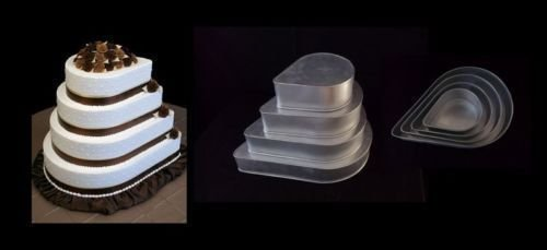 4 tier Dew Drop Tins - Bakeworld.ie
