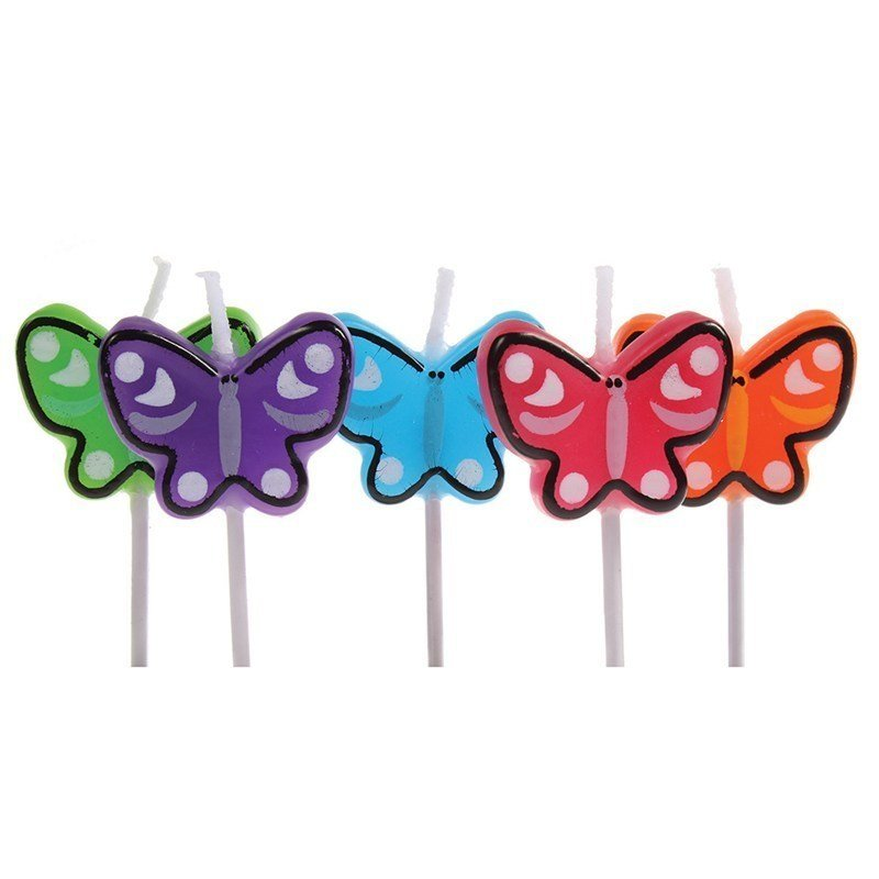 Birthday Candles Butterfly - Bakeworld.ie