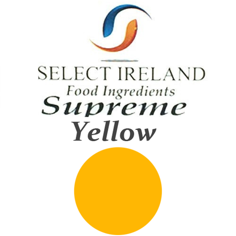 Supreme Silk Canary Yellow Sugarpaste 2kg (sealable tub)
