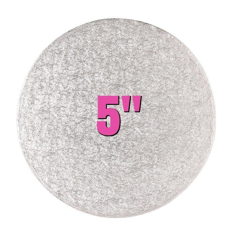 5'' Round Turn Edge Cake Cards (1.75mm) - Bakeworld.ie