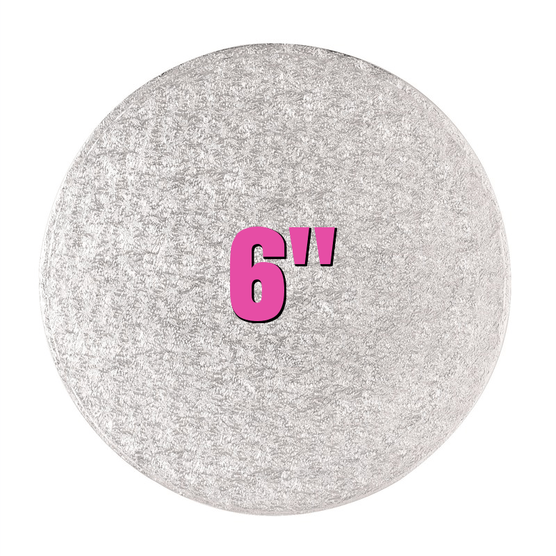 6'' Round Turn Edge Cake Cards (1.75mm) - Bakeworld.ie