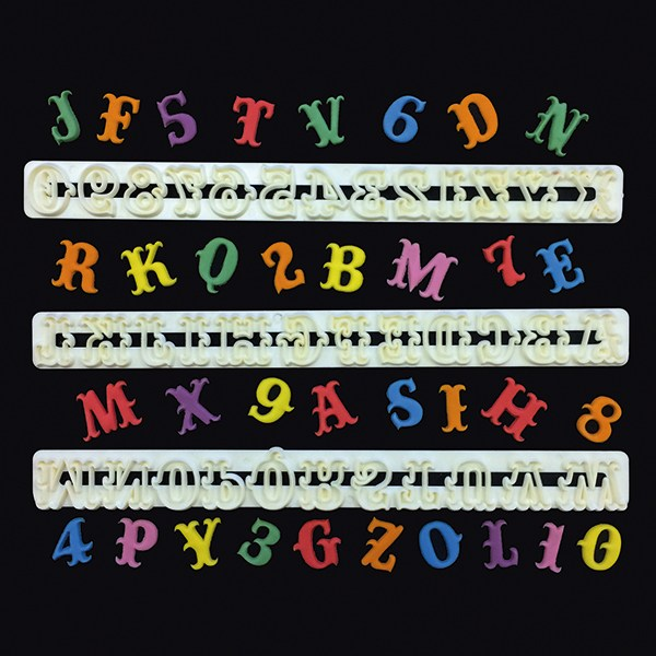 FMM - Carnival Alphabet and Number Tappit