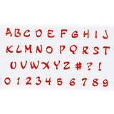 FMM - Magical U/C Alphabet and Number Tappit