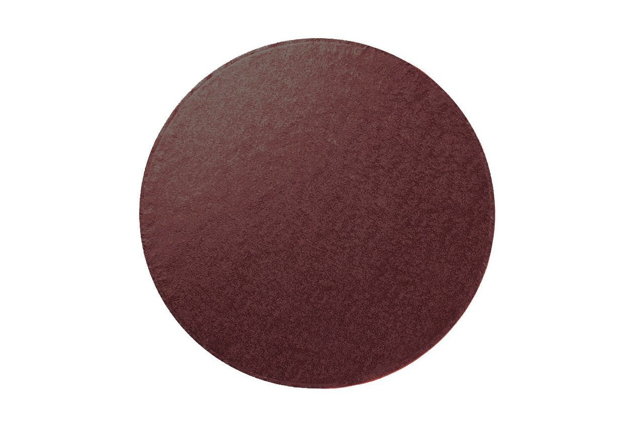 "Round Chocolate Brown Drums 8"" 10"" 12"""