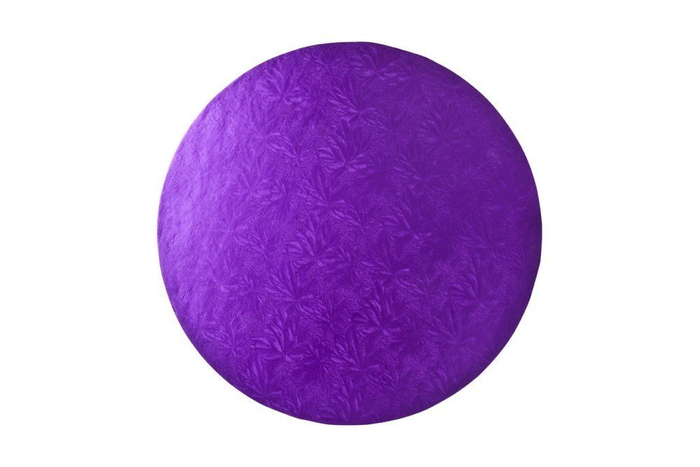 "Round Purple Drums 8"" 10"" 12"""