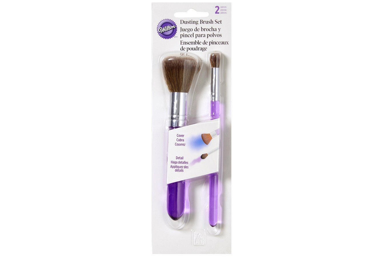Wilton : Dusting Brush Set - 2 Pieces