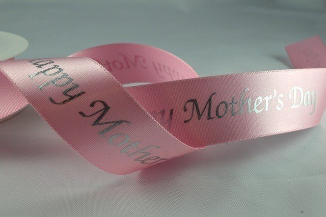25mm Mothers day ribbon 5 Metres - Bakeworld.ie