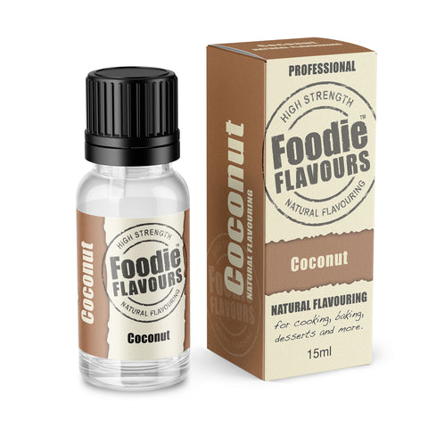 Coconut Natural Flavouring 15ml