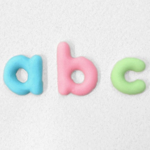 Katy Sue Moulds: Alphabet Lowercase