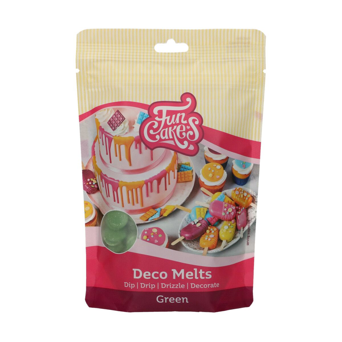 FunCakes Deco Melts -Green- 250g