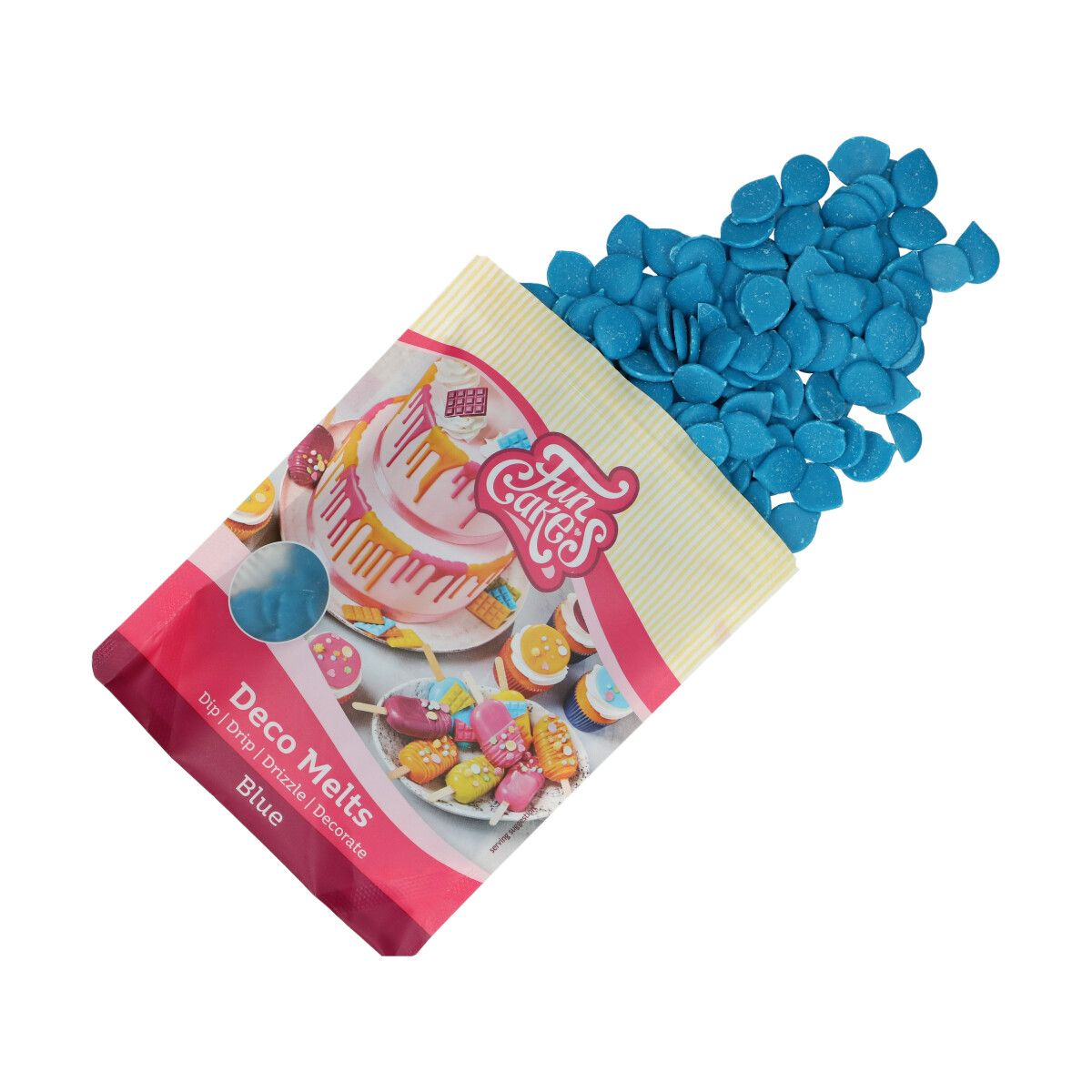 FunCakes Deco Melts -Blue- 250g