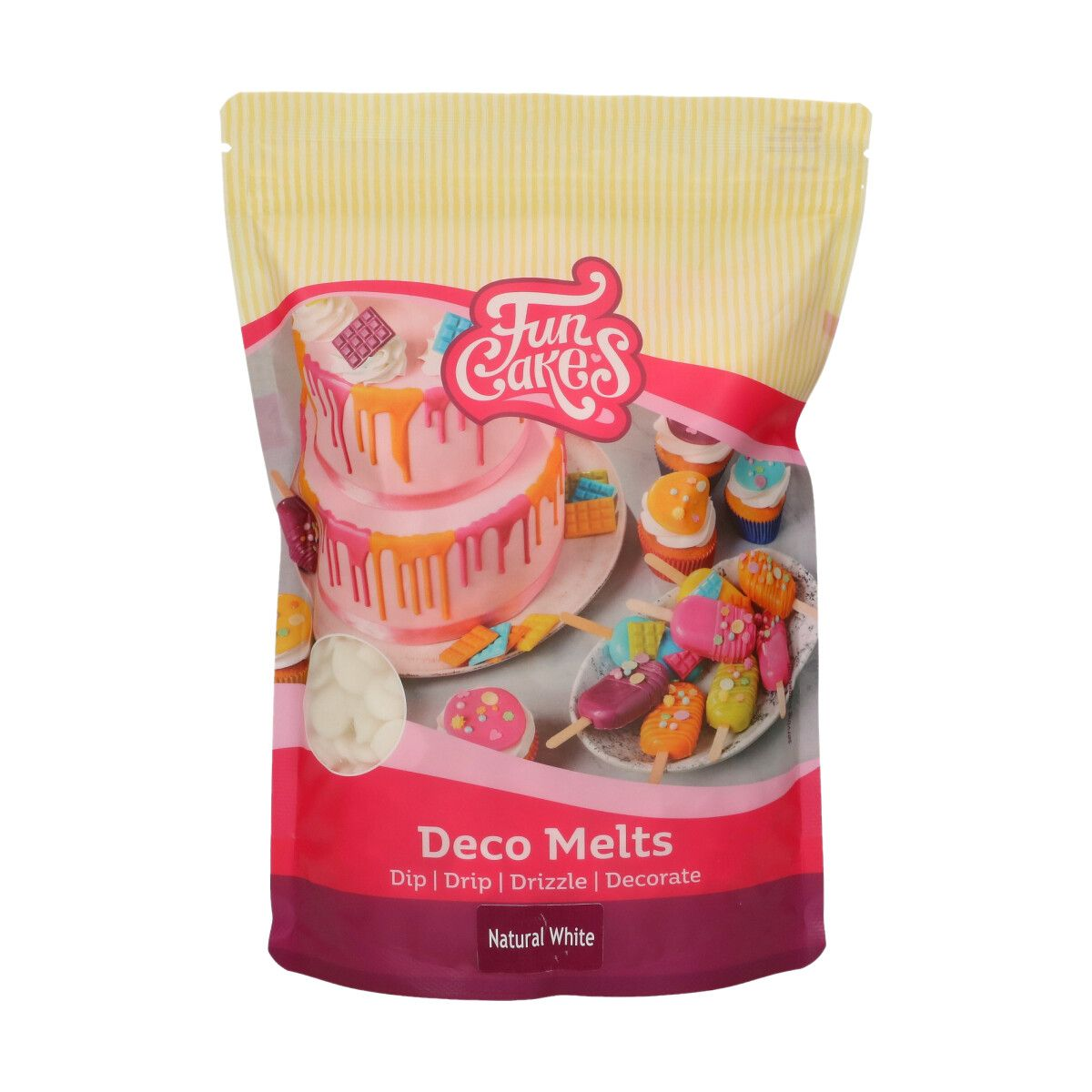 FunCakes Deco Melts -Natural White 1kg