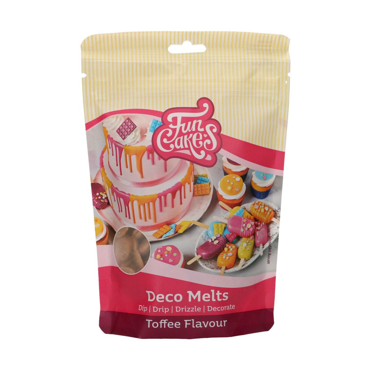 FunCakes Deco Melts - Toffee Flavour- 250g