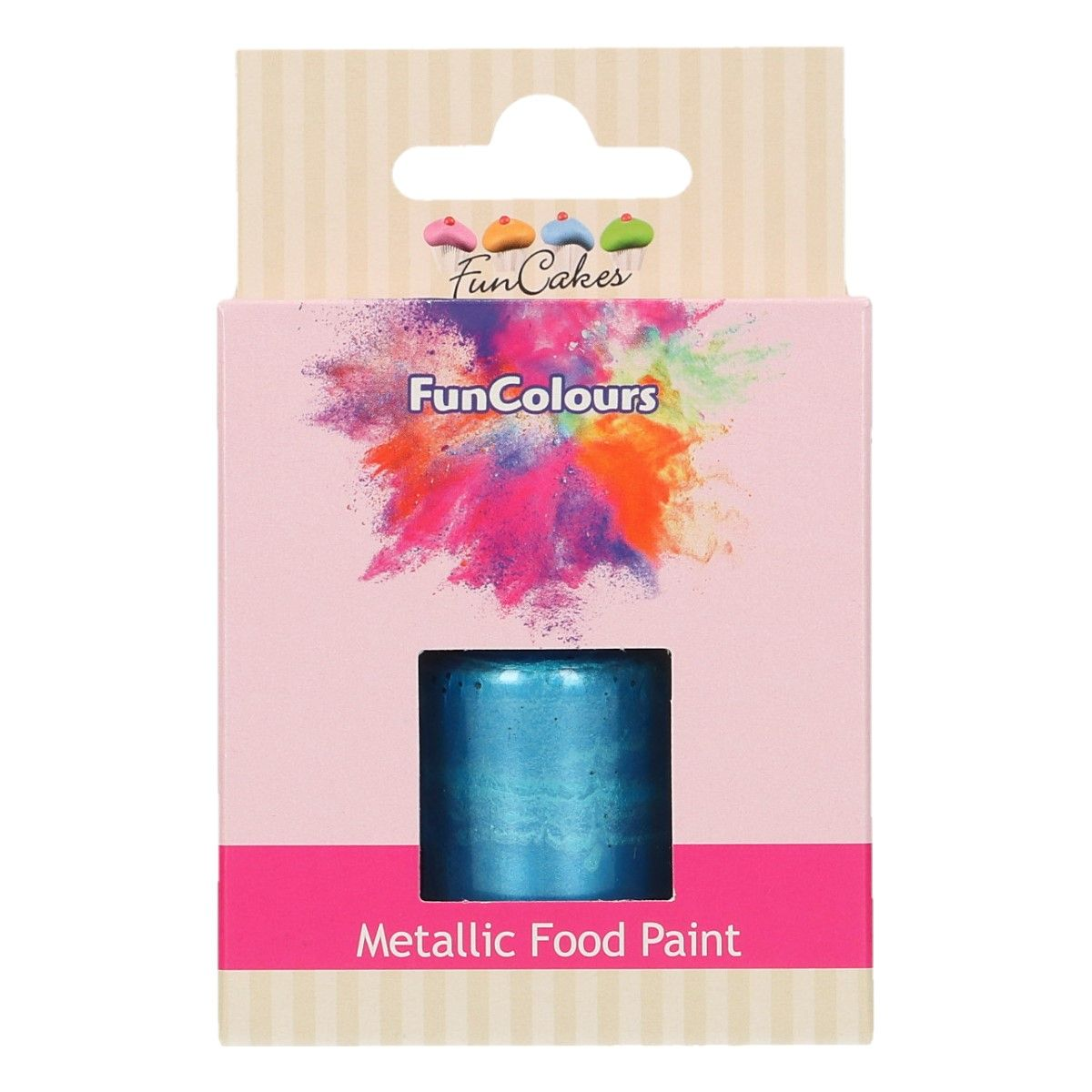 FunCakes Metallic Food Paint Royal Blue 30ml