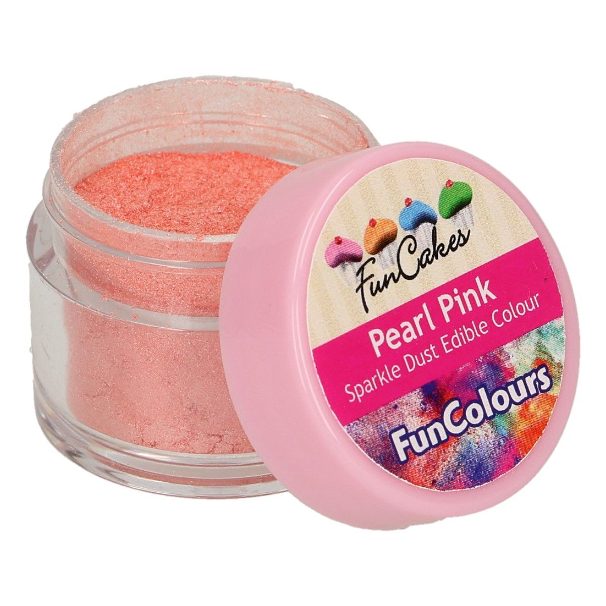 FunCakes Edible Sparkle Dust -Pearl Pink