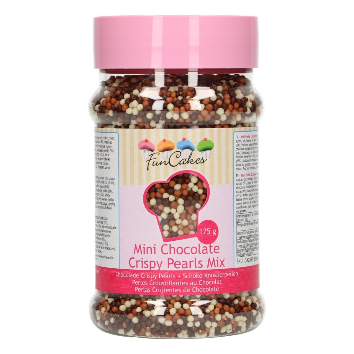 FunCakes Mini Chocolate Crispy Pearls Mix-175g