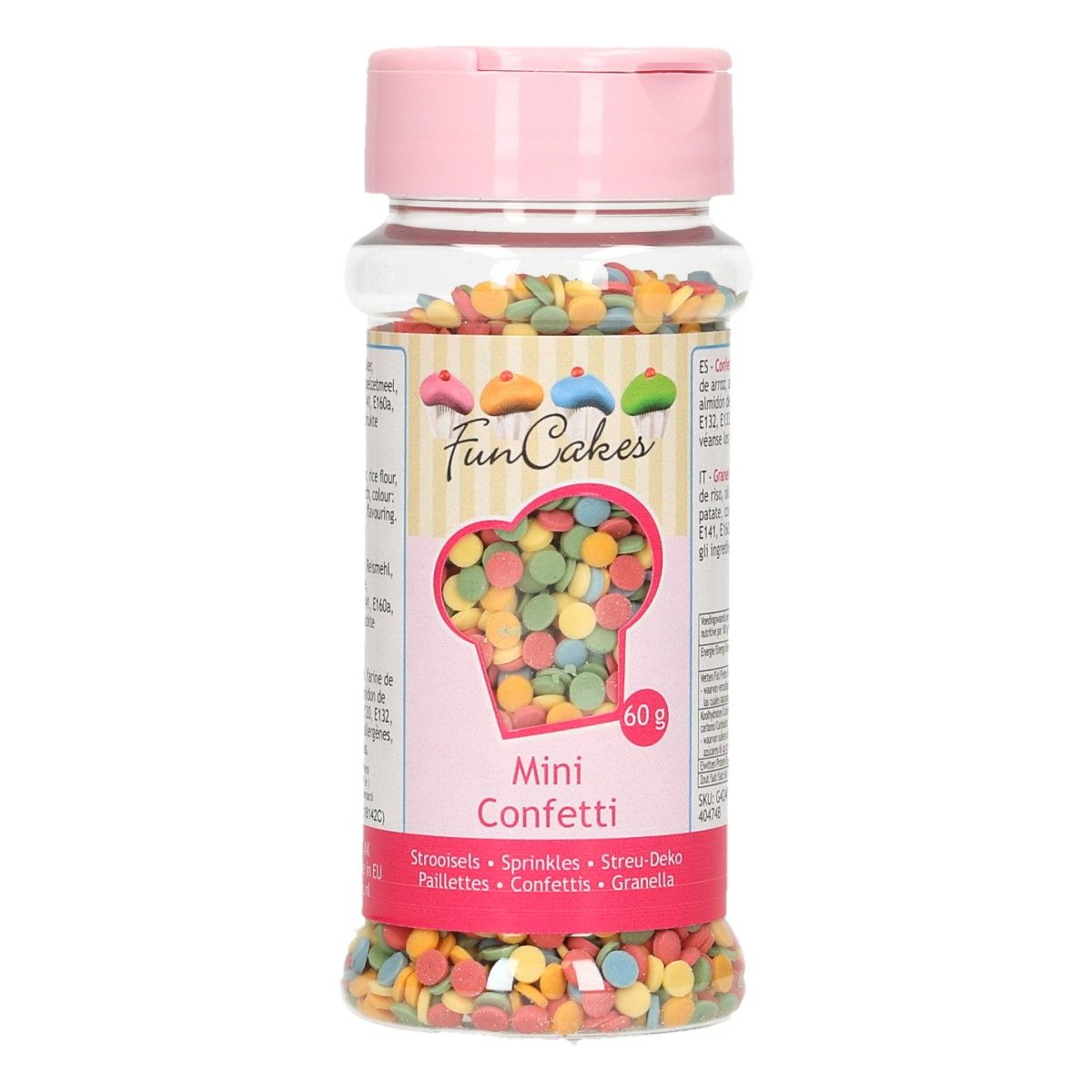 FunCakes Mini Confetti Mix 60g