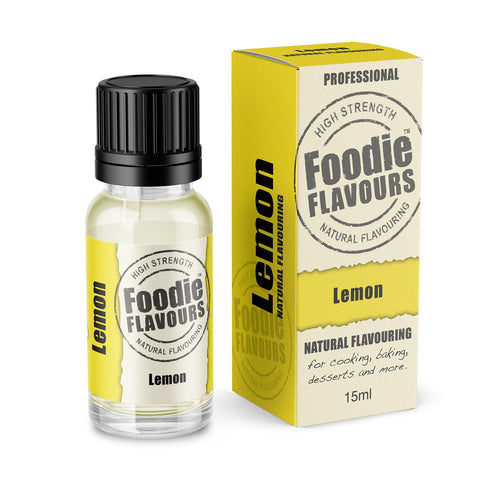 Lemon Natural Flavouring 15ml