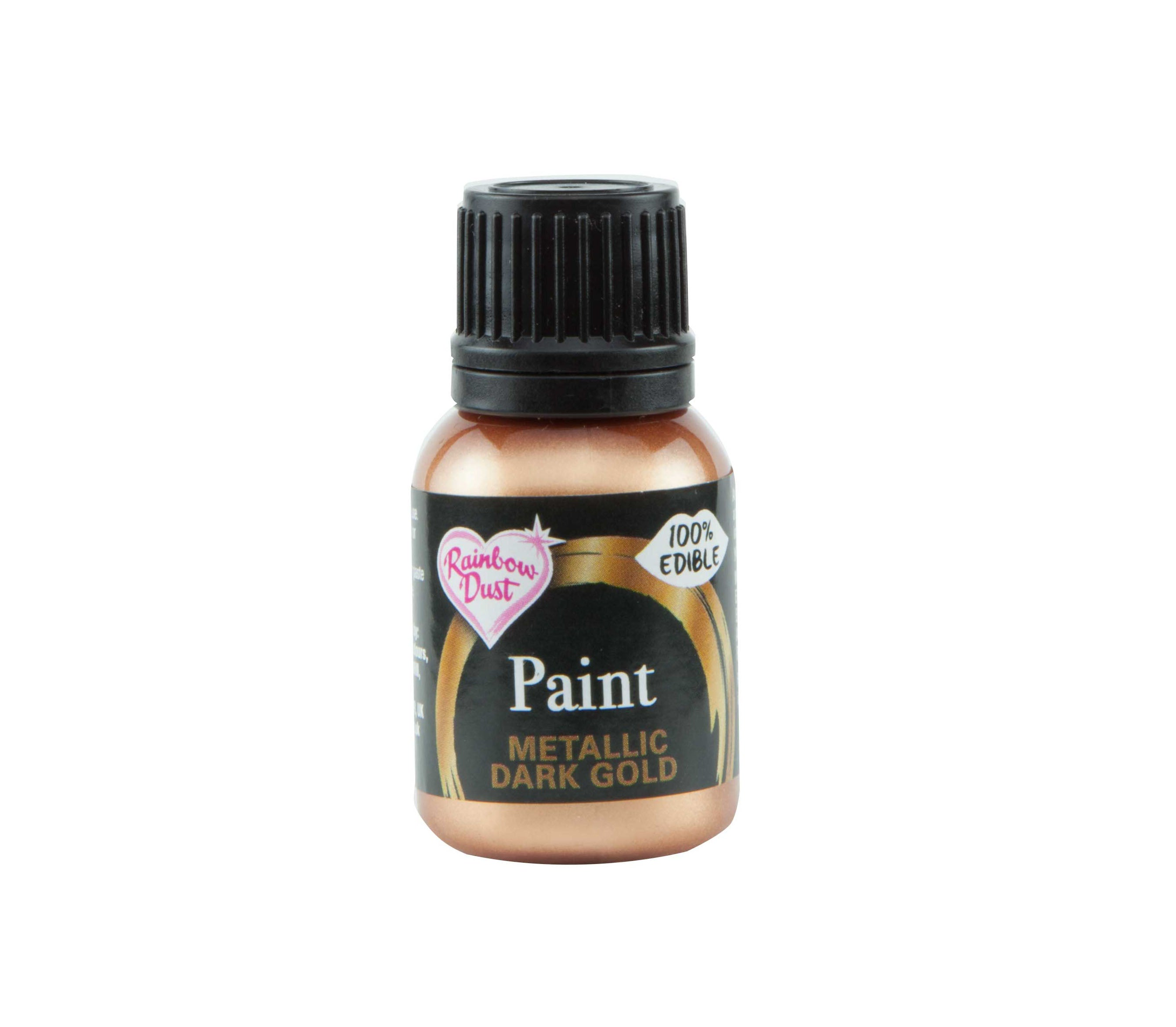 Edible Paints Dark Gold 25g