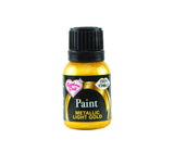 Edible Paints Metallic Light Gold 25g