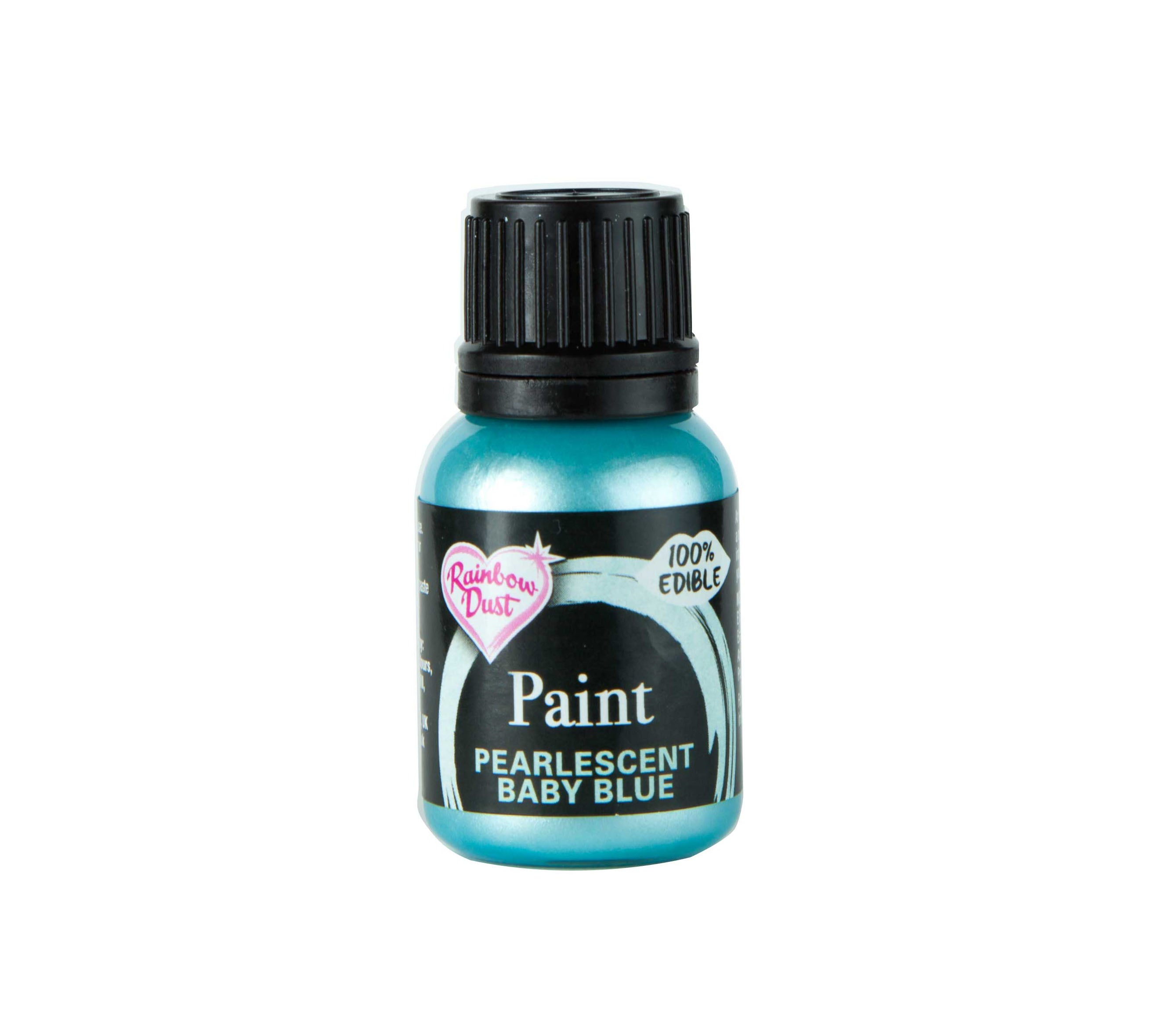 Edible Paints Pearl Baby Blue 25g