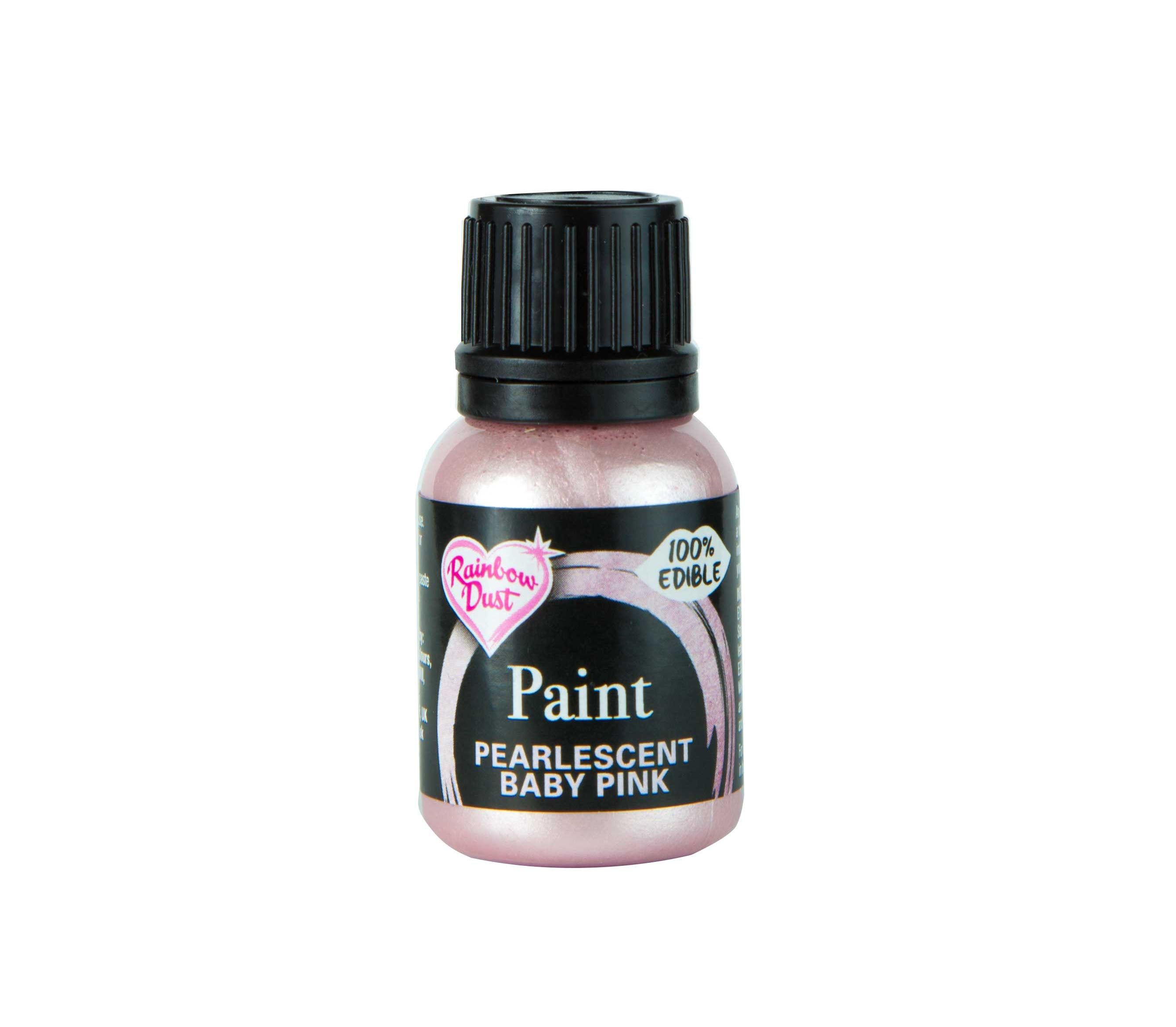 Edible Paints Pearl Baby Pink 25g