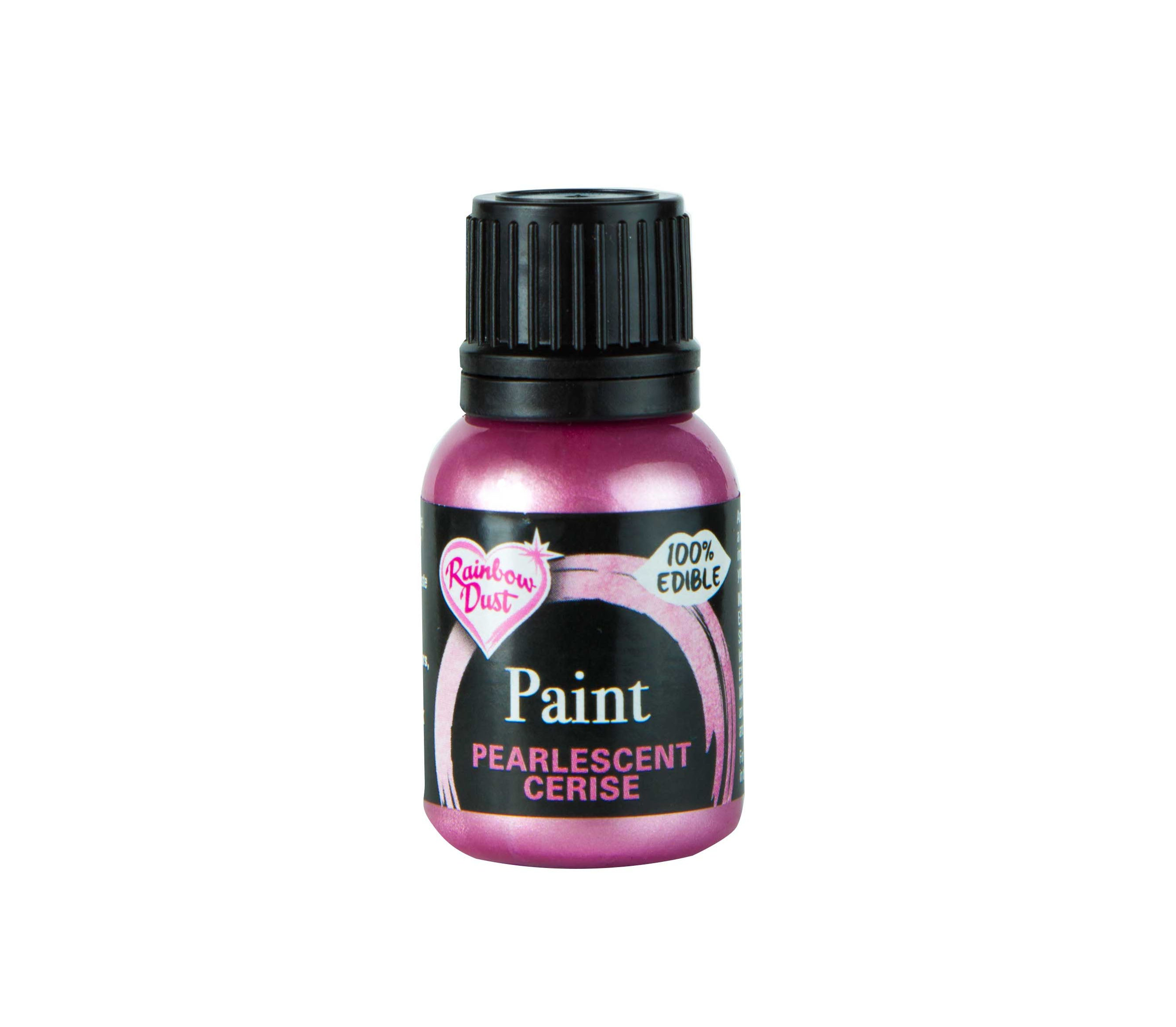 Edible Paints Pearl Cerise 25g