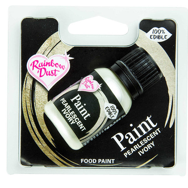 Edible Paints Pearl Ivory 25g