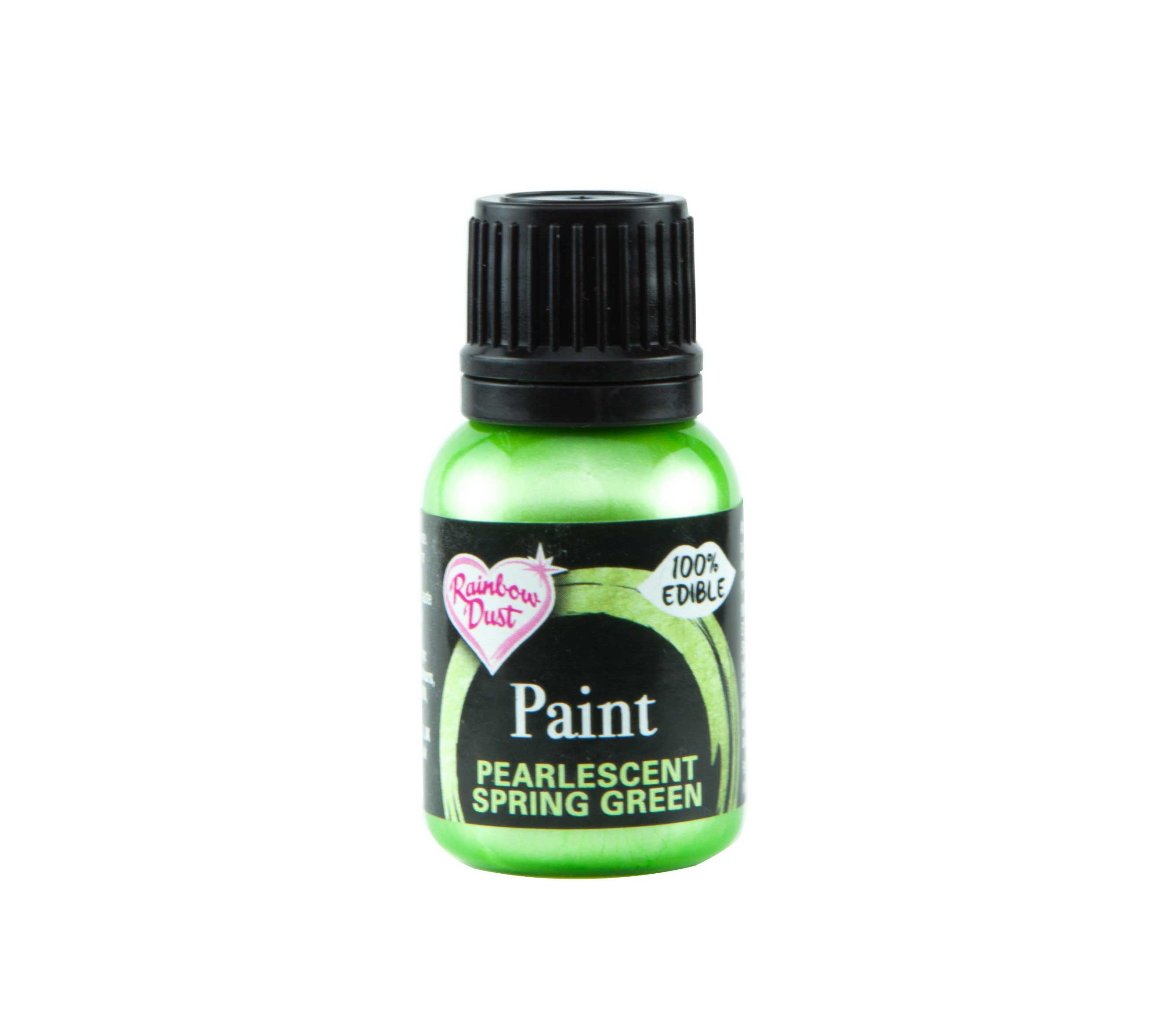 Edible Paints Metallic Spring Green 25g