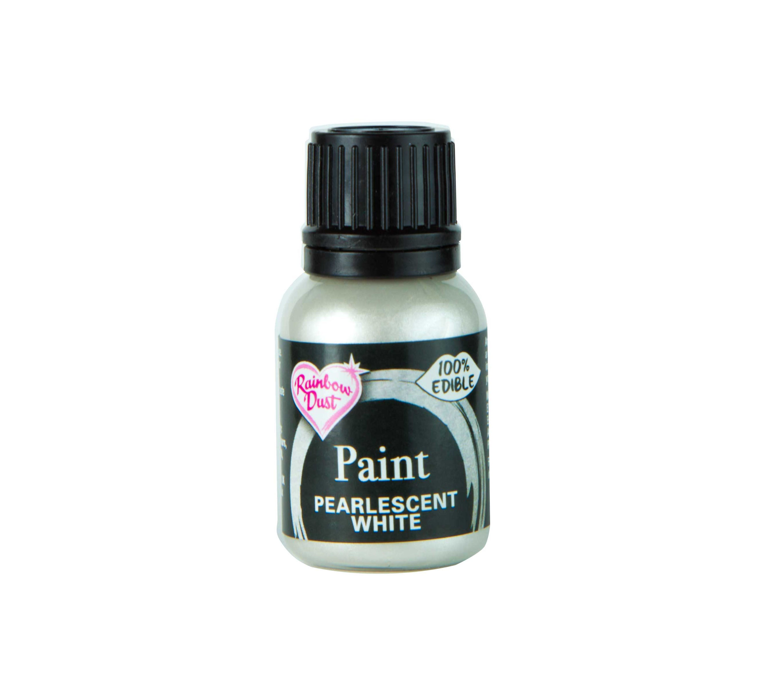 Edible Paints Pearl White 25g