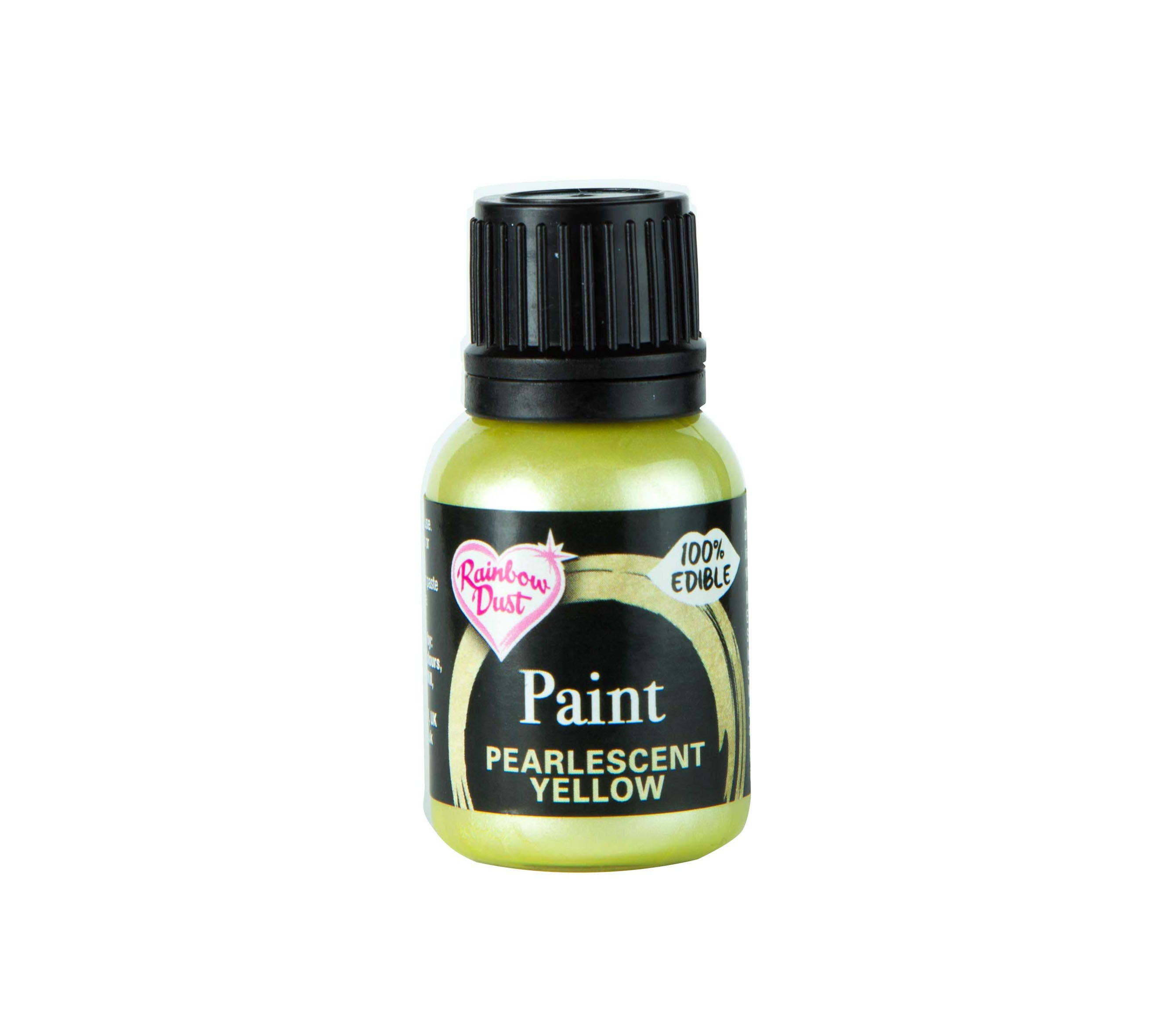 Edible Paints Pearl Yellow 25g