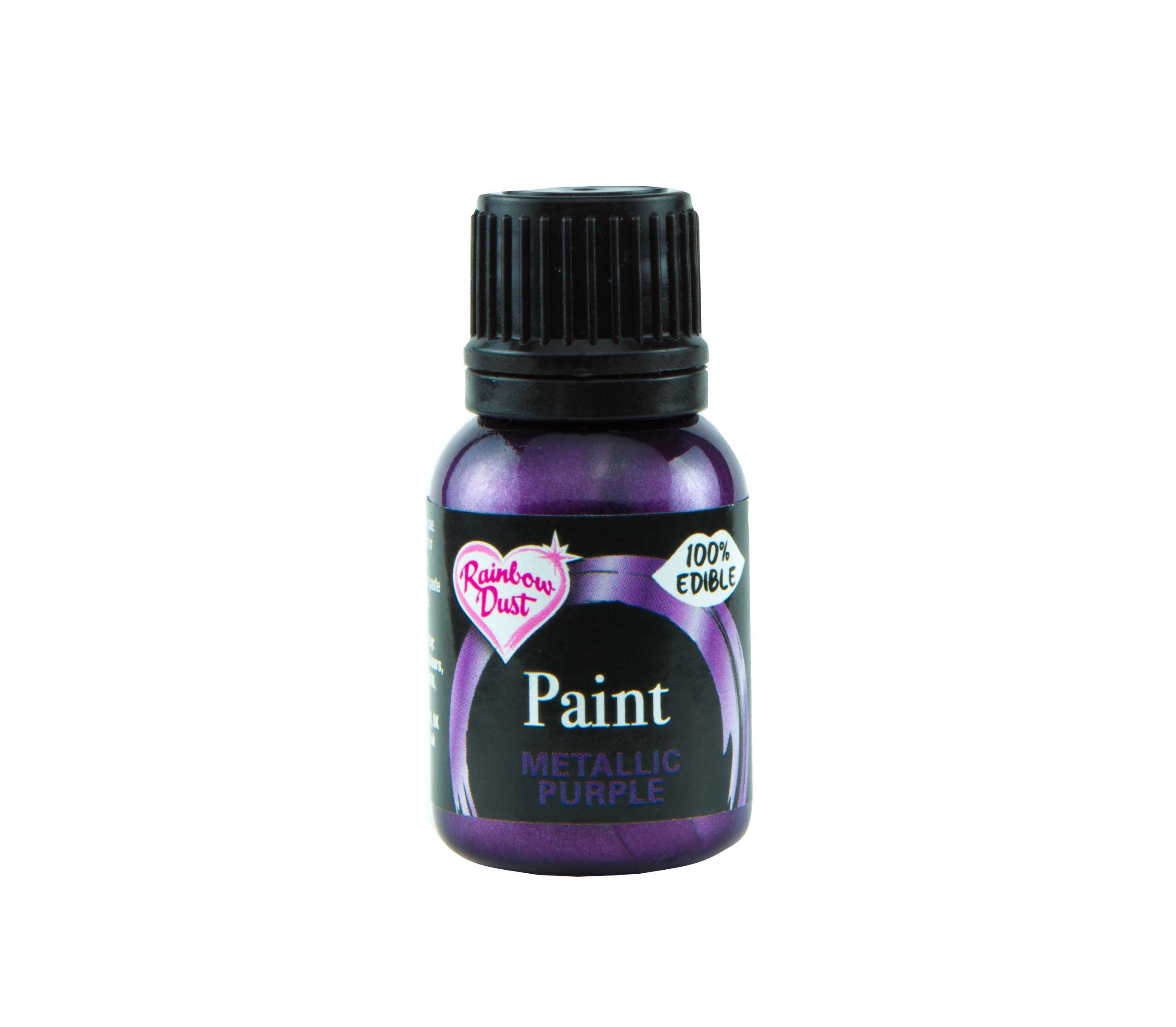 Edible Paints Metallic Purple 25g