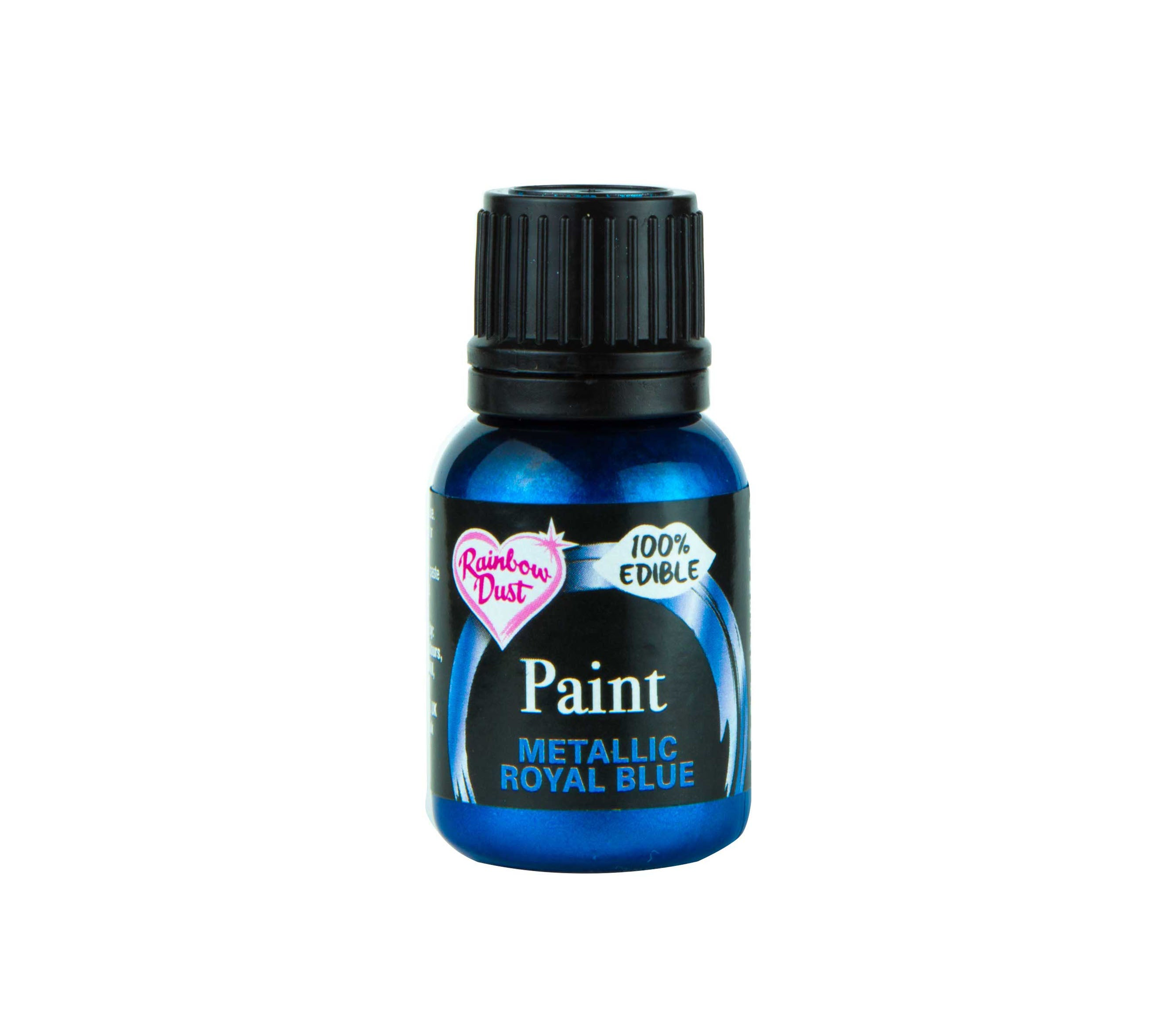 Edible Paints Metallic Royal Blue 25g