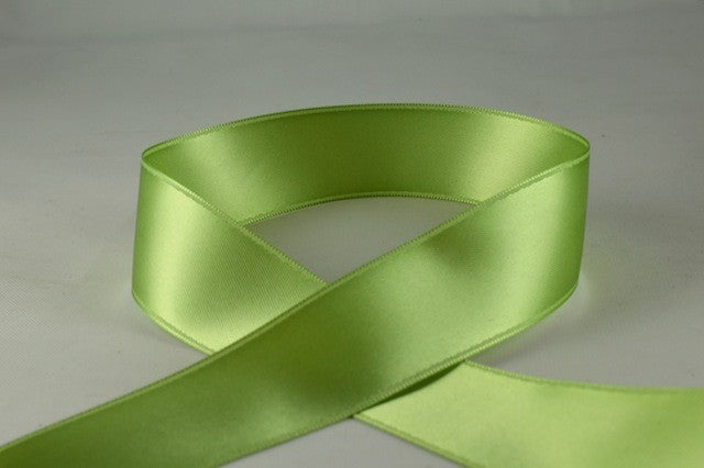 25mm Satin Pale Green