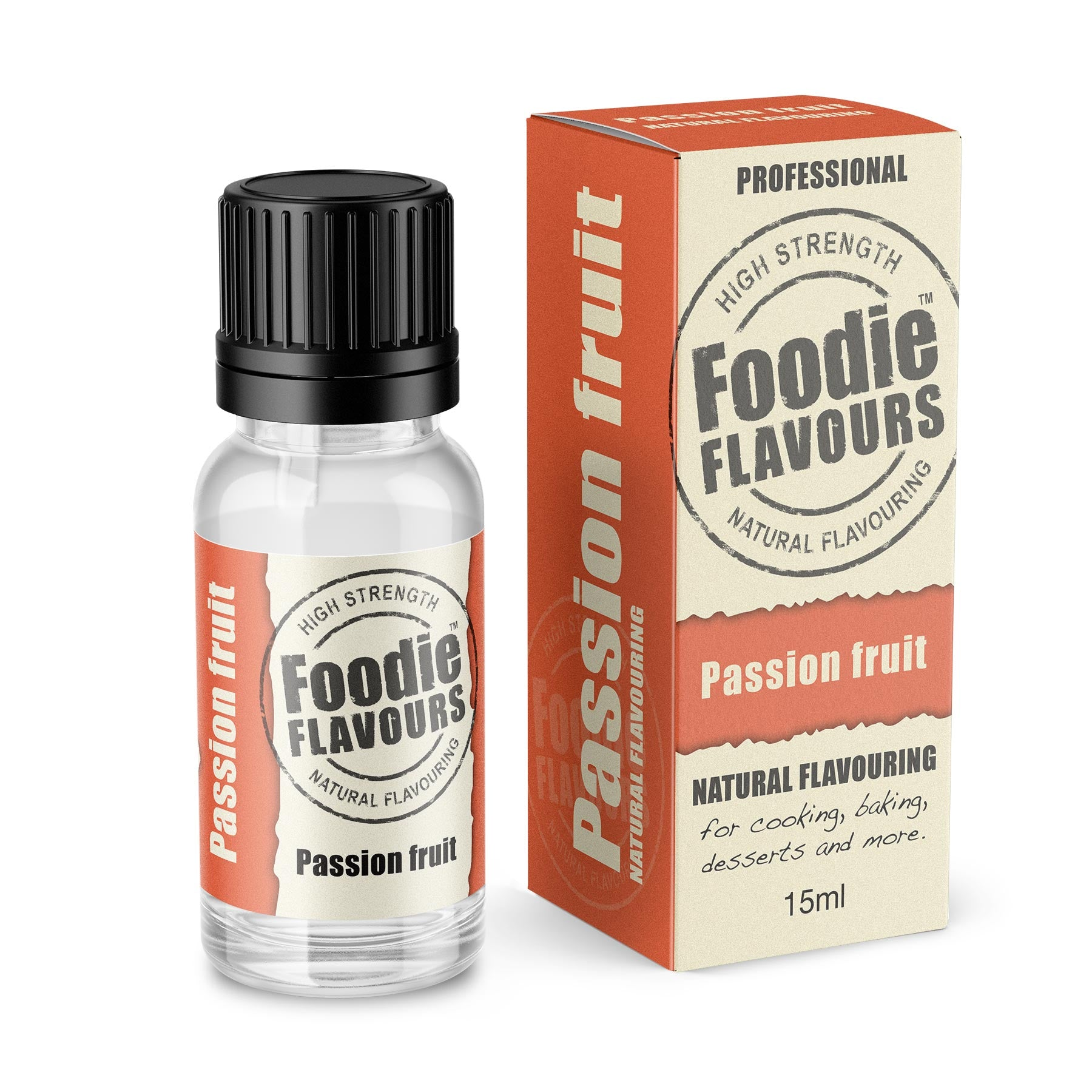 Passion Fruit Natural Flavouring 15ml