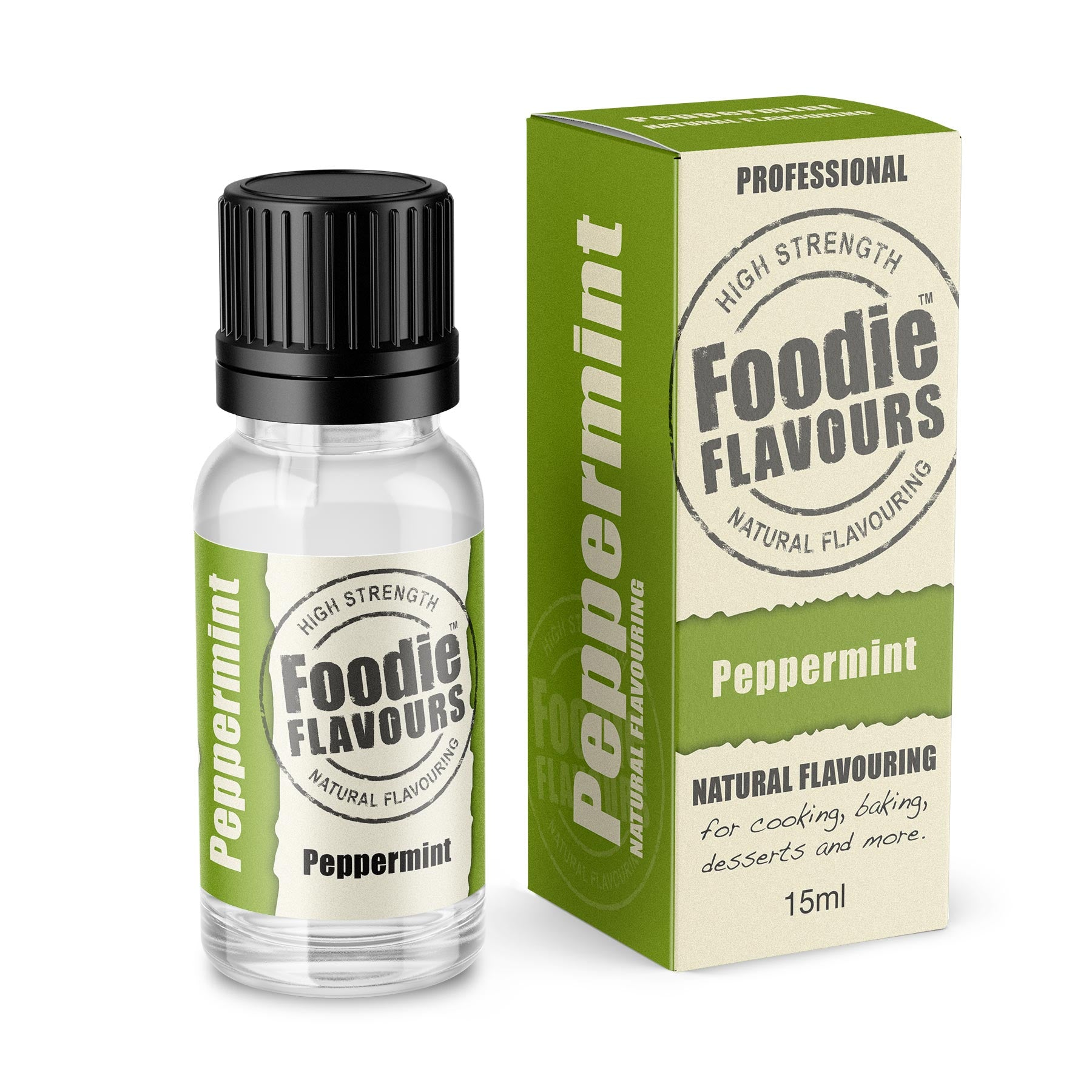 Peppermint Natural Flavouring 15ml