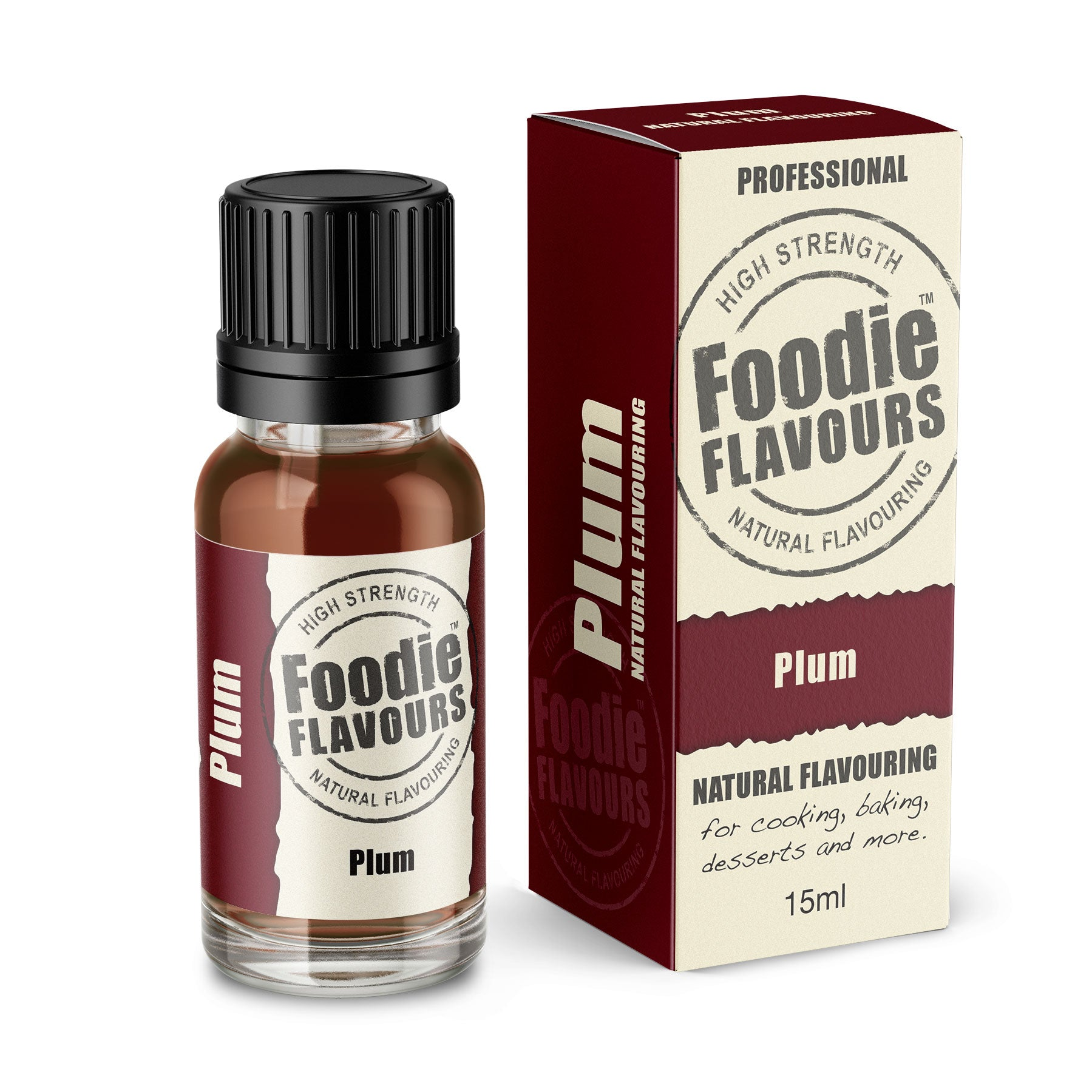 Plum Natural Flavouring 15ml