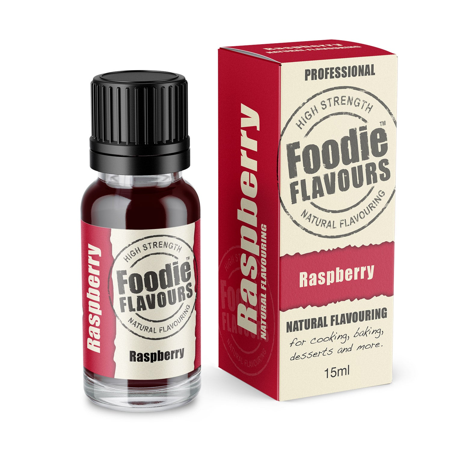 Raspberry Natural Flavouring 15ml