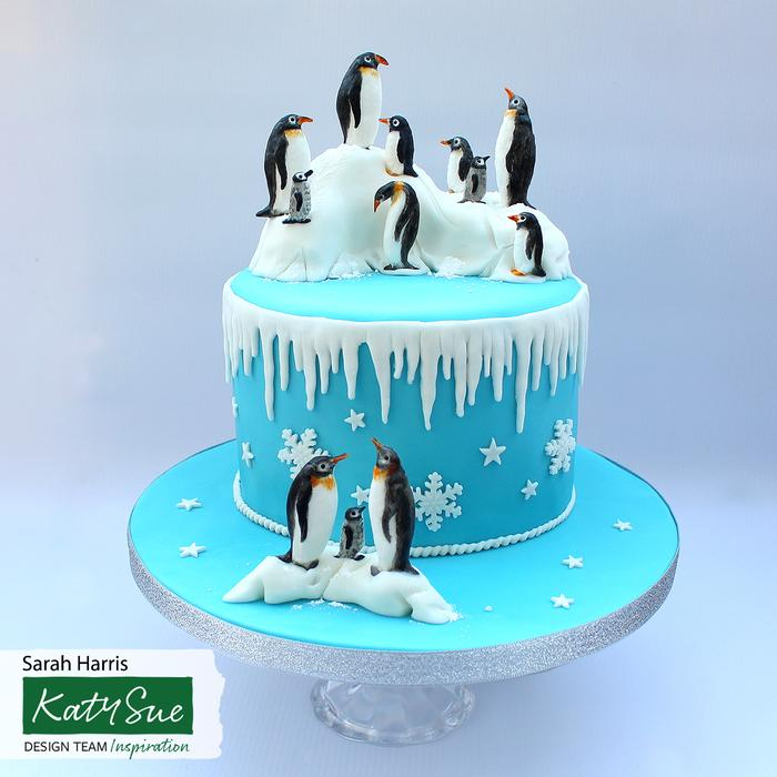 Katy Sue Moulds : Penguin Family