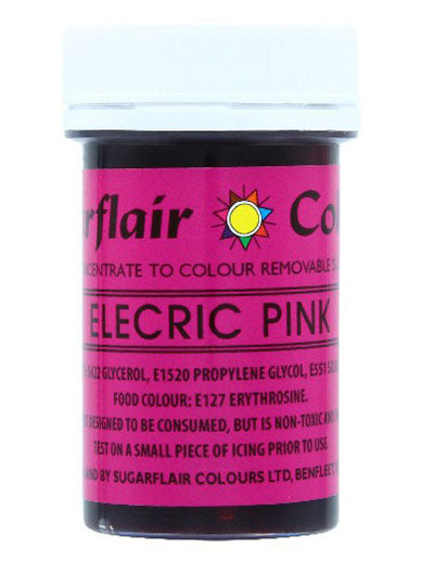 Electric Pink Non-Edible Craft Paste 25g